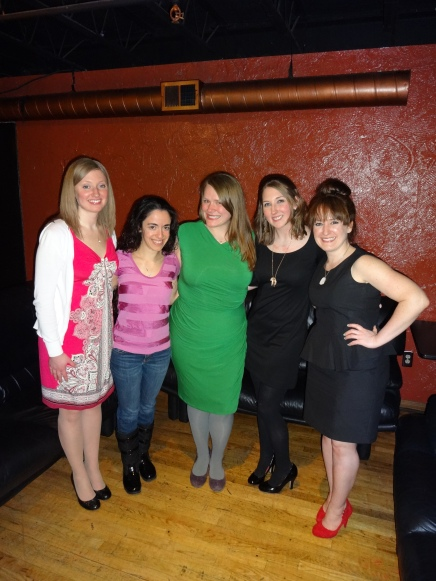 Left to Right: Monica, Mary, Kristin, Catherine, Jess